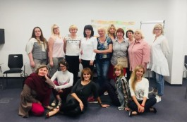 The first session of 'Women Power' held in Minsk