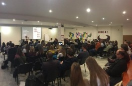'Our Cause' — The Youth Forum gathers a full house