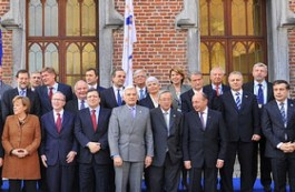Milinkevich at the EPP's anniversary summit