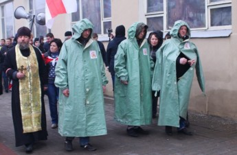 MFF members participate inthe Chornobyl March