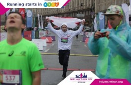 MFF team takes the 13th place at the Kyiv marathon
