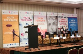 Deputy Chairman represents the MFF at the 'Youth for Rights' forum